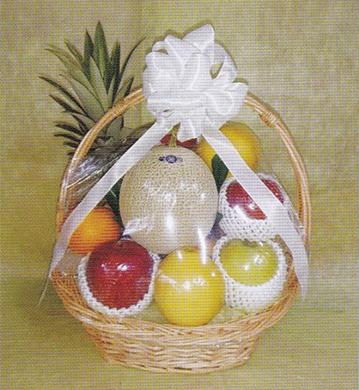 バスケット手籠(果物)