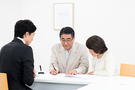 4.葬儀後のご入会や名義変更も可能。
